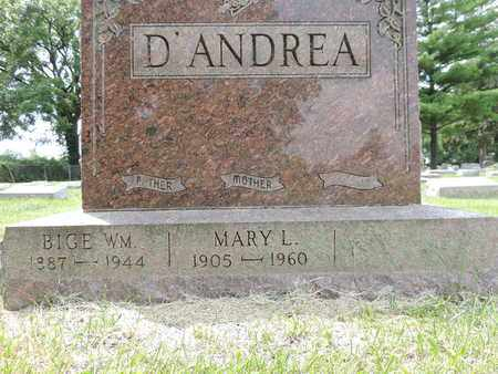 D'ANDREA, MARY L. - Franklin County, Ohio | MARY L. D'ANDREA - Ohio Gravestone Photos
