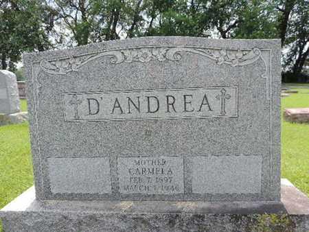 D'ANDREA, CARMELA - Franklin County, Ohio | CARMELA D'ANDREA - Ohio Gravestone Photos