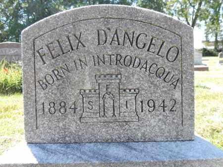 D'ANGELO, FELIX - Franklin County, Ohio | FELIX D'ANGELO - Ohio Gravestone Photos