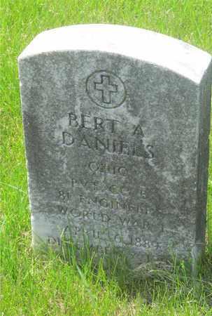 DANIELS, BERT A. - Franklin County, Ohio | BERT A. DANIELS - Ohio Gravestone Photos