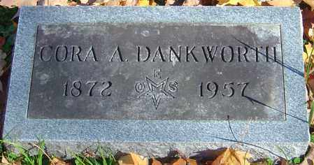 DANKWORTH, CORA A - Franklin County, Ohio | CORA A DANKWORTH - Ohio Gravestone Photos