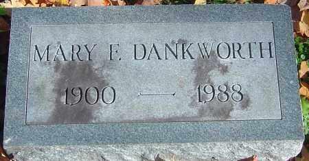 DANKWORTH, MARY FRANCES - Franklin County, Ohio | MARY FRANCES DANKWORTH - Ohio Gravestone Photos
