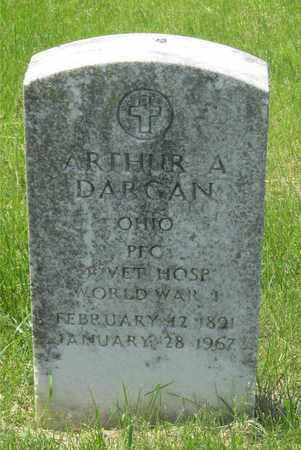 DARGAN, ARTHUR A. - Franklin County, Ohio | ARTHUR A. DARGAN - Ohio Gravestone Photos
