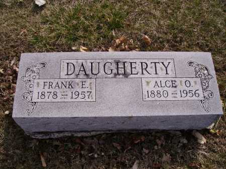 DAUGHERTY, FRANK E. - Franklin County, Ohio | FRANK E. DAUGHERTY - Ohio Gravestone Photos