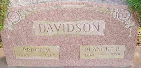 DAVIDSON, BLANCHE - Franklin County, Ohio | BLANCHE DAVIDSON - Ohio Gravestone Photos