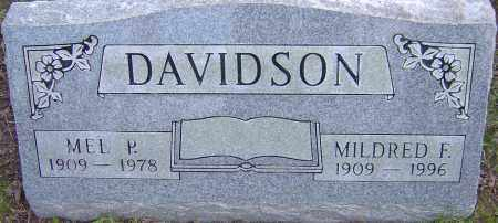 DAVIDSON, MEL - Franklin County, Ohio | MEL DAVIDSON - Ohio Gravestone Photos