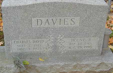 DAVIES, CHARLES DAVID - Franklin County, Ohio | CHARLES DAVID DAVIES - Ohio Gravestone Photos