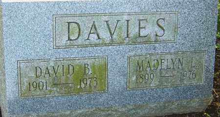 DAVIES, DAVID - Franklin County, Ohio | DAVID DAVIES - Ohio Gravestone Photos