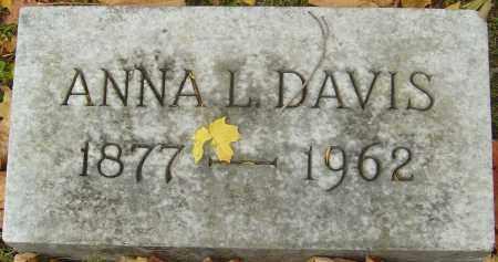 DAVIS, ANNA L - Franklin County, Ohio | ANNA L DAVIS - Ohio Gravestone Photos