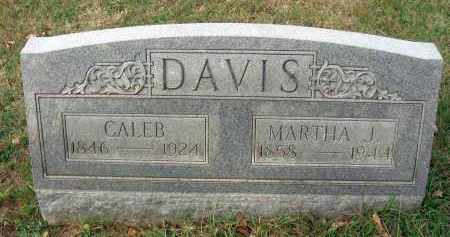 DAVIS, CALEB - Franklin County, Ohio | CALEB DAVIS - Ohio Gravestone Photos