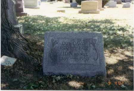 DAVIS, DOW - Franklin County, Ohio | DOW DAVIS - Ohio Gravestone Photos