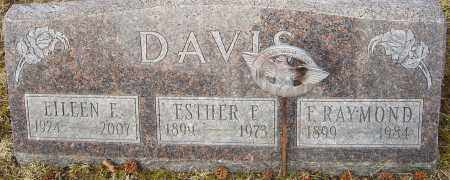 FARSON DAVIS, ESTHER - Franklin County, Ohio | ESTHER FARSON DAVIS - Ohio Gravestone Photos