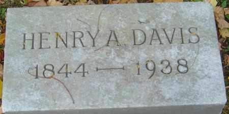 DAVIS, HENRY A - Franklin County, Ohio | HENRY A DAVIS - Ohio Gravestone Photos
