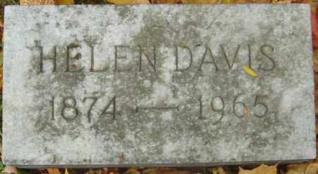 DAVIS, HELEN - Franklin County, Ohio | HELEN DAVIS - Ohio Gravestone Photos