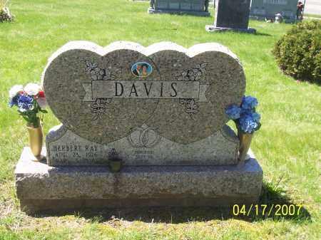 DAVIS, HERBERT R - Franklin County, Ohio | HERBERT R DAVIS - Ohio Gravestone Photos