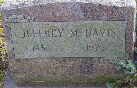 DAVIS, JEFFREY M - Franklin County, Ohio | JEFFREY M DAVIS - Ohio Gravestone Photos
