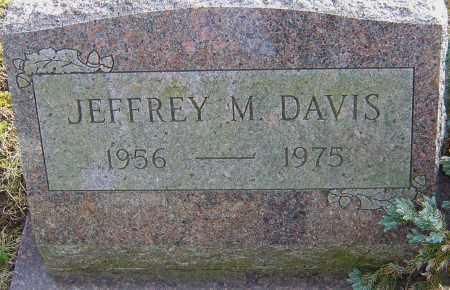 DAVIS, JEFFREY M - Franklin County, Ohio | JEFFREY M DAVIS - Ohio Gravestone Photos