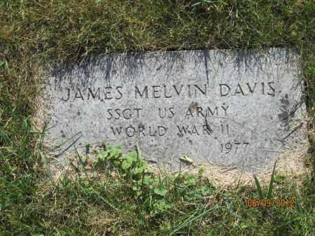 "DAVIS, JAMES MELVIN ""MEL"" - Franklin County, Ohio | JAMES MELVIN ""MEL"" DAVIS - Ohio Gravestone Photos"
