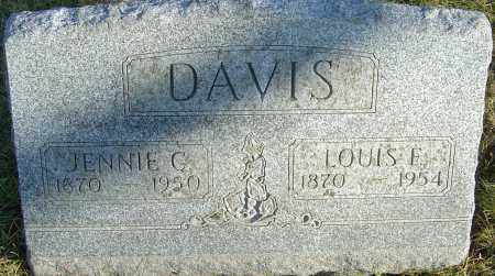 DAVIS, JENNIE G - Franklin County, Ohio | JENNIE G DAVIS - Ohio Gravestone Photos