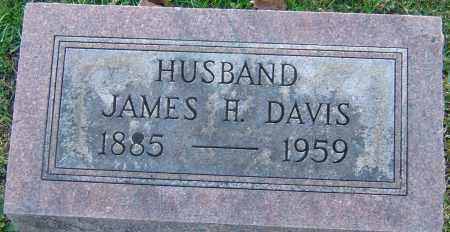 DAVIS, JAMES H - Franklin County, Ohio | JAMES H DAVIS - Ohio Gravestone Photos