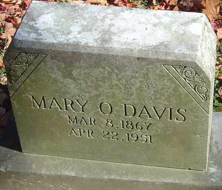 DAVIS, MARY OLIVE - Franklin County, Ohio | MARY OLIVE DAVIS - Ohio Gravestone Photos