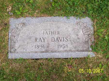 DAVIS, RAY - Franklin County, Ohio | RAY DAVIS - Ohio Gravestone Photos