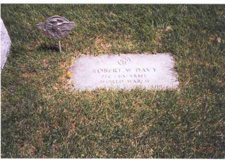 DAVY, ROBERT W. - Franklin County, Ohio   ROBERT W. DAVY - Ohio Gravestone Photos