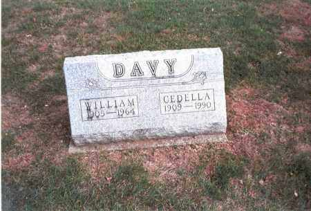 DAVY, CEDELLA - Franklin County, Ohio | CEDELLA DAVY - Ohio Gravestone Photos