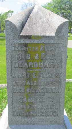DEARDURFF, MARY E. - Franklin County, Ohio | MARY E. DEARDURFF - Ohio Gravestone Photos