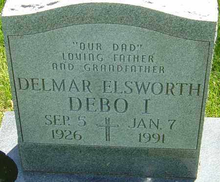 DEBO, DELMAR ELSWORTH - Franklin County, Ohio | DELMAR ELSWORTH DEBO - Ohio Gravestone Photos