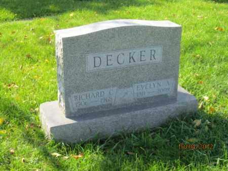 RENSCH DECKER, EVELYN ANNADALE - Franklin County, Ohio | EVELYN ANNADALE RENSCH DECKER - Ohio Gravestone Photos