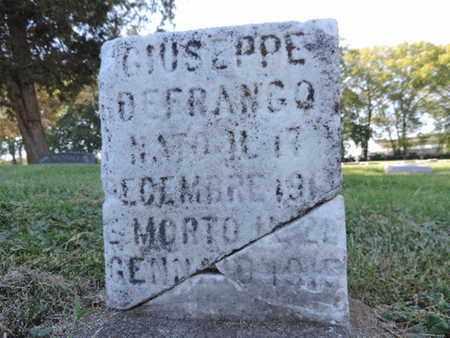 DEFRANGO, GIUSEPPE - Franklin County, Ohio | GIUSEPPE DEFRANGO - Ohio Gravestone Photos