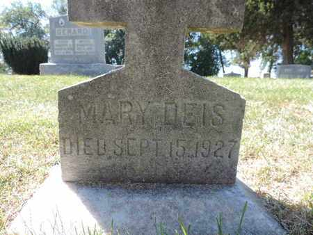 DEIS, MARY - Franklin County, Ohio | MARY DEIS - Ohio Gravestone Photos