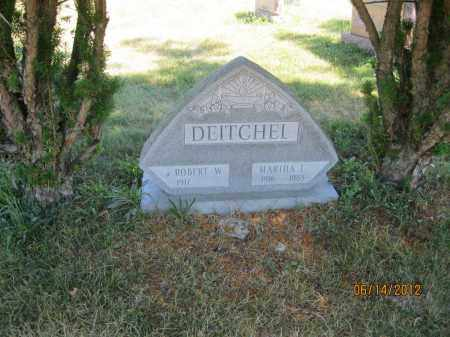 DEITCHEL, ROBERT W - Franklin County, Ohio | ROBERT W DEITCHEL - Ohio Gravestone Photos