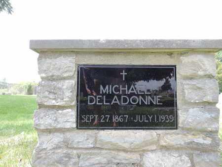 DELADONNE, MICHAEL - Franklin County, Ohio   MICHAEL DELADONNE - Ohio Gravestone Photos