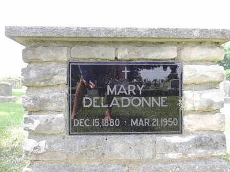 DELADONNE, MARY - Franklin County, Ohio | MARY DELADONNE - Ohio Gravestone Photos