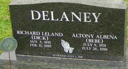 DELANEY, ALTONY - Franklin County, Ohio | ALTONY DELANEY - Ohio Gravestone Photos