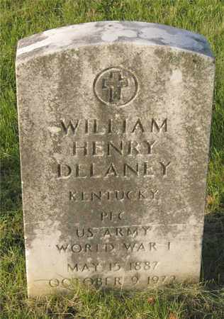 DELANEY, WILLIAM HENRY - Franklin County, Ohio | WILLIAM HENRY DELANEY - Ohio Gravestone Photos
