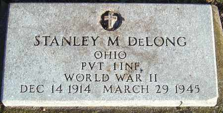 DELONG, STANLEY M - Franklin County, Ohio | STANLEY M DELONG - Ohio Gravestone Photos