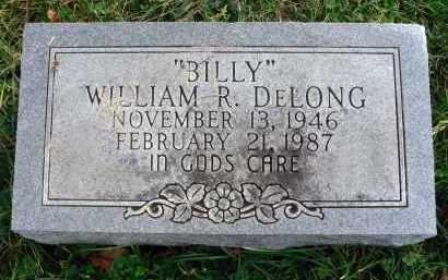 "DELONG, WILLIAM R. ""BILLY"" - Franklin County, Ohio | WILLIAM R. ""BILLY"" DELONG - Ohio Gravestone Photos"