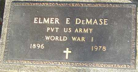 DEMASE, ELMER - Franklin County, Ohio | ELMER DEMASE - Ohio Gravestone Photos