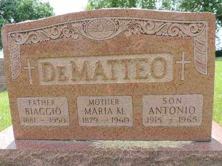 DEMATTEO, BIACCIO - Franklin County, Ohio | BIACCIO DEMATTEO - Ohio Gravestone Photos