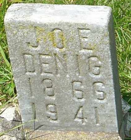 DENIG, JOE - Franklin County, Ohio | JOE DENIG - Ohio Gravestone Photos