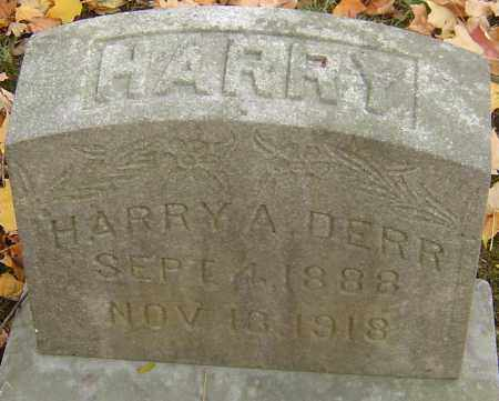 DERR, HARRY A - Franklin County, Ohio | HARRY A DERR - Ohio Gravestone Photos