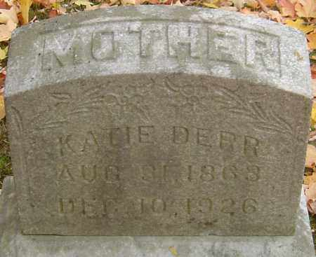 DERR, KATIE - Franklin County, Ohio | KATIE DERR - Ohio Gravestone Photos