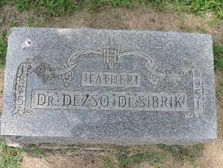 DESIBRIK, DEZSO - Franklin County, Ohio   DEZSO DESIBRIK - Ohio Gravestone Photos