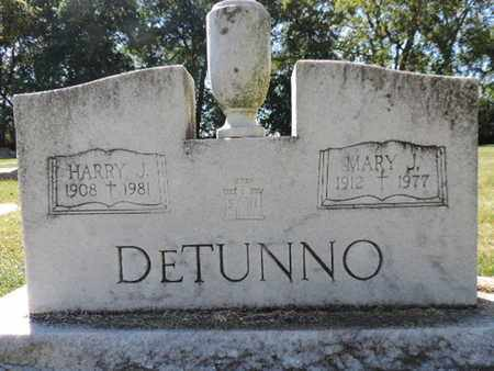 DETUNNO, HARRY J. - Franklin County, Ohio | HARRY J. DETUNNO - Ohio Gravestone Photos