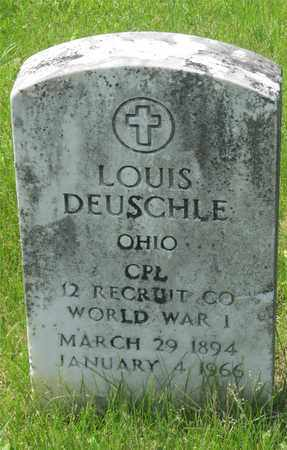 DEUSCHLE, LOUIS - Franklin County, Ohio | LOUIS DEUSCHLE - Ohio Gravestone Photos