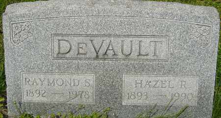 DEVAULT, HAZEL R - Franklin County, Ohio | HAZEL R DEVAULT - Ohio Gravestone Photos