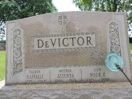 DEVICTOR, RAFFALLE - Franklin County, Ohio | RAFFALLE DEVICTOR - Ohio Gravestone Photos